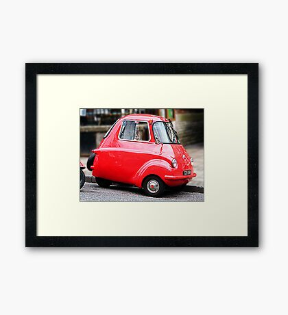 The 'REAL RED BUBBLE' Framed Print