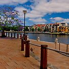 Claisebrook. Perth WA. by HG. QualityPhotography