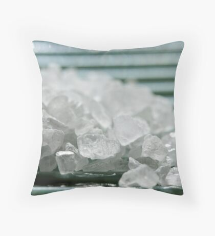 Sea Salt Throw Pillow