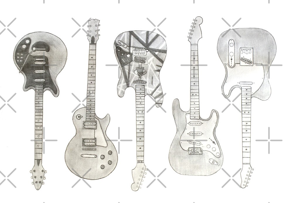 Guitars by axemangraphics