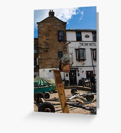 Wainwrights drinking place  Greeting Card