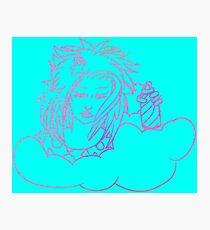 Retro-80s Hairspray Cloud Photographic Print
