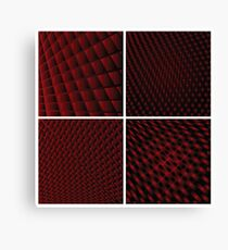 Disco backgrounds Canvas Print