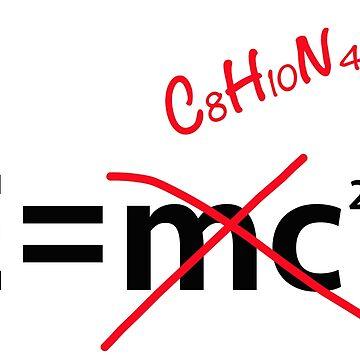 E = caffeine (formula) by timkouroff