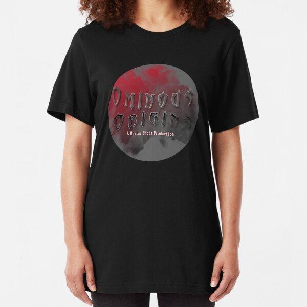 The Official Ominous Origins Logo Slim Fit T-Shirt