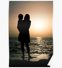 Cretian Sunset Poster
