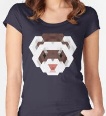 Fierce Ferret Women's Fitted Scoop T-Shirt