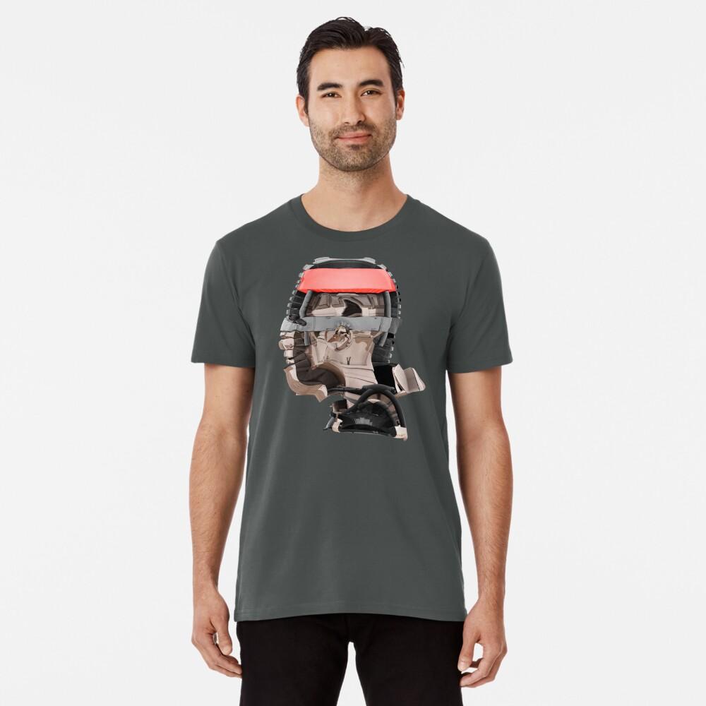 DISPLACEMIND III 12|2016 - Shirt (Cyberpunk Displacement 3D-Render Digital Art) Premium T-Shirt
