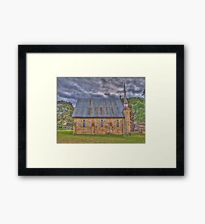 Byng Church- Side On Framed Print