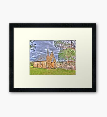 Give Me Strength So I Can Stand Tall Framed Print