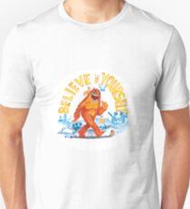 """Believe in Yourself!"" -Sasquatch T-Shirt"