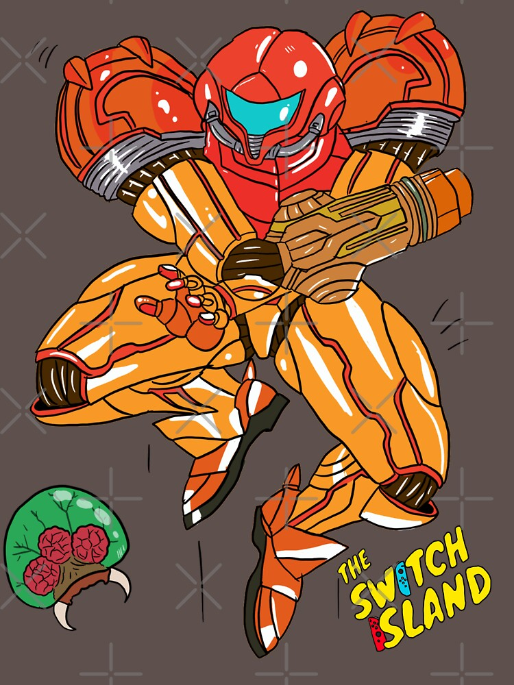 Samus On The Switch Island by TheSwitchIsland