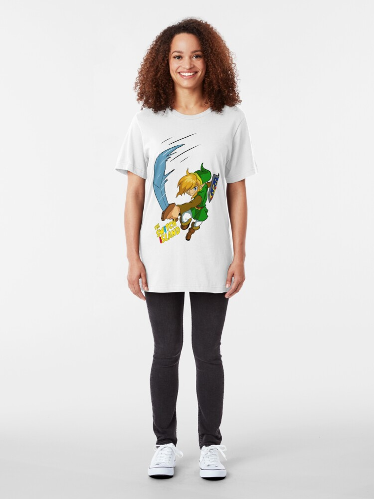 Alternate view of Link #1 On The Switch Island Slim Fit T-Shirt