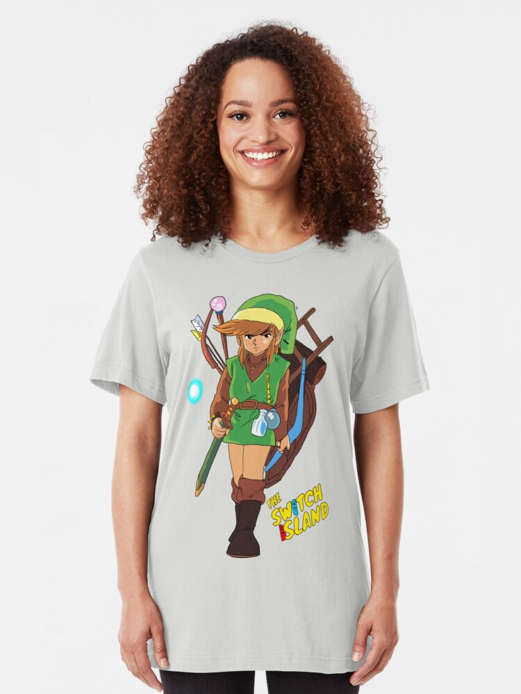 Alternate view of Link #2 On The Switch Island Slim Fit T-Shirt