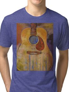 Acoustic Guitar Tri-blend T-Shirt