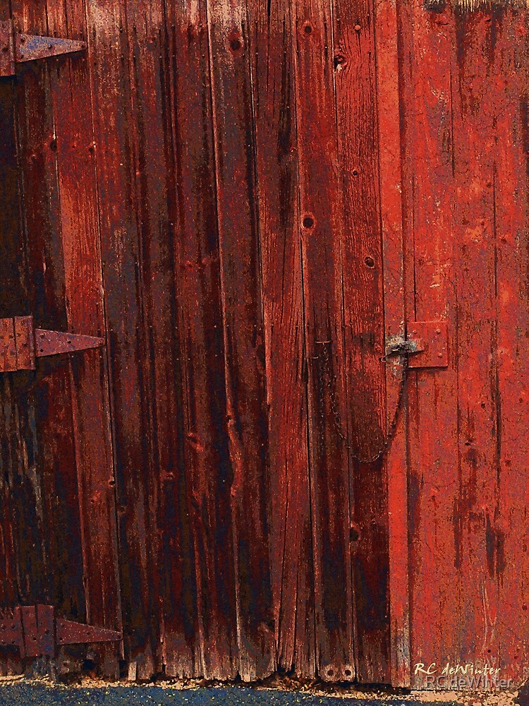 Red Shed by RC deWinter