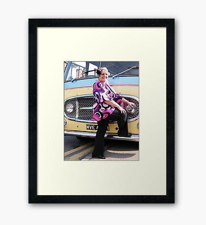 In The 60's 11 Framed Print