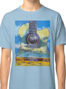 Guitar and Clouds Classic T-Shirt