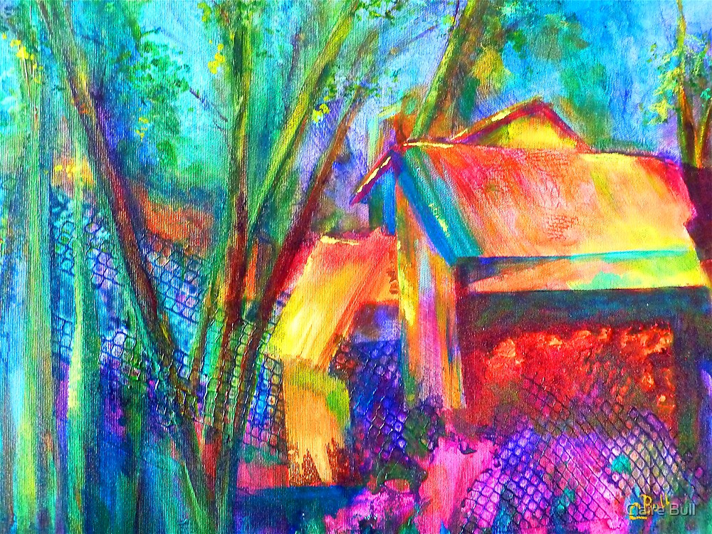 Garden Shed by Claire Bull
