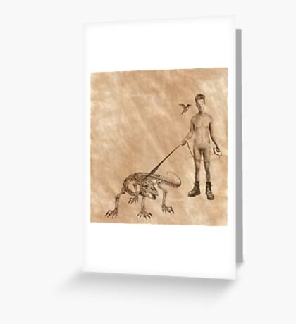 Stan & Olive Greeting Card