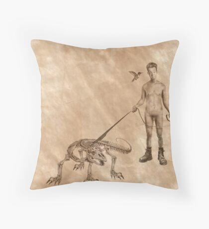Stan & Olive Throw Pillow