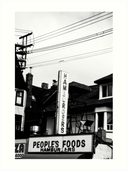 Hamburgers by Jason Dymock Photography