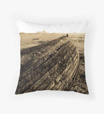 Overturned Throw Pillow