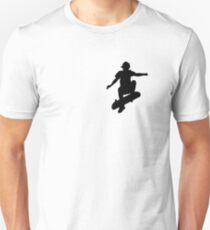 Skater Small - Black Unisex T-Shirt
