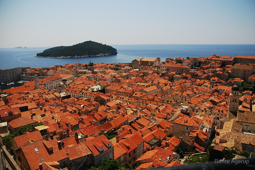 All the tiles in Dubrovnik by julie08