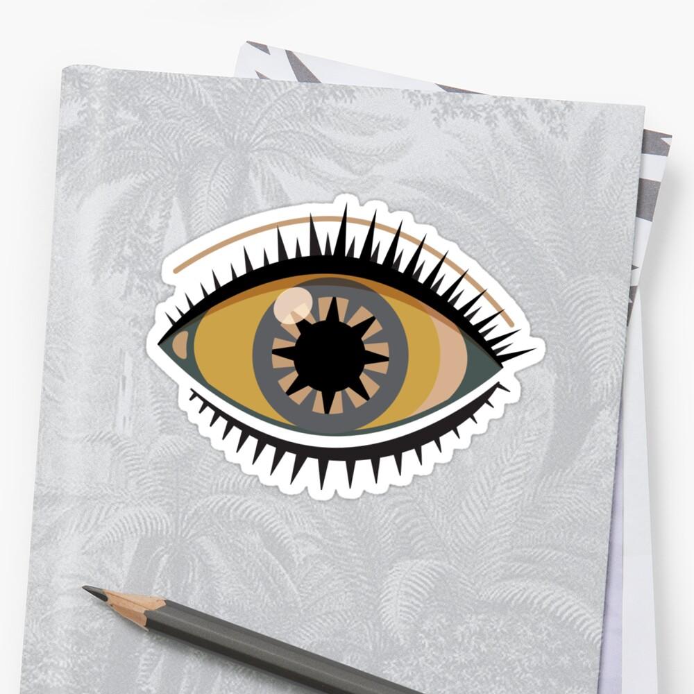 Graphic Eye Sticker