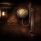 Steampunk - Boiler Gauge by Michael Savad