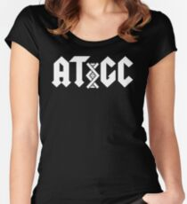 AC/DC DNA Women's Fitted Scoop T-Shirt