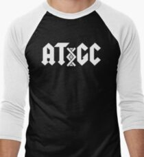 Camiseta ¾ bicolor para hombre ADN AC / DC