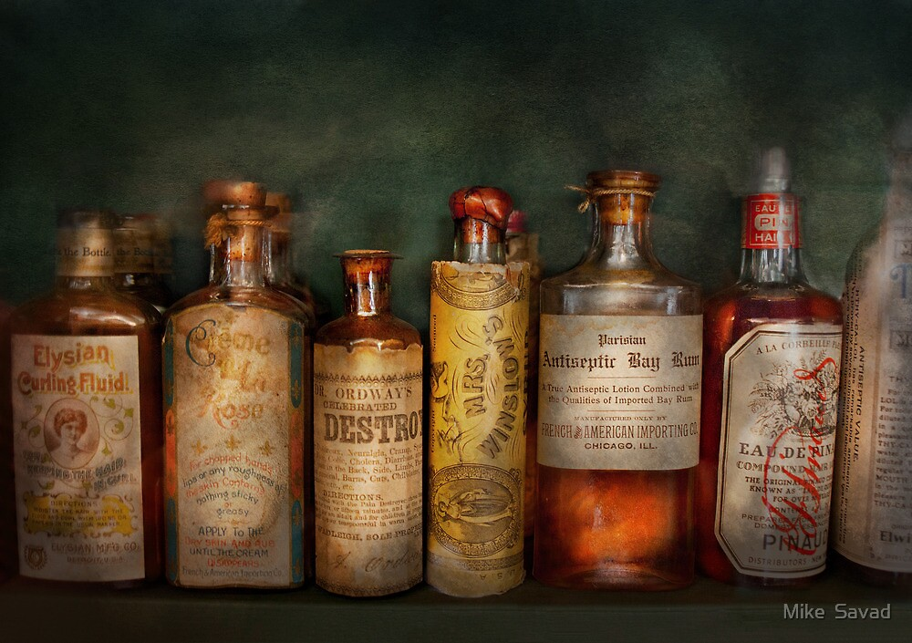 Pharmacy - Daily Remedies  by Michael Savad