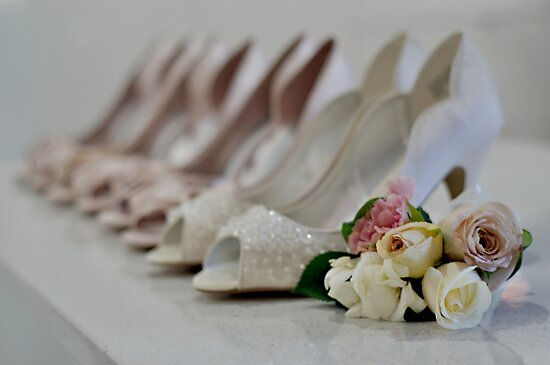 Bridal Shoes by Melissa-Louise