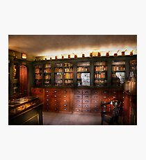 Pharmacy - The Apothecary Shop Photographic Print