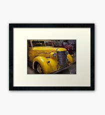 Fireman - Mattydale  Framed Print