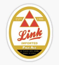 Link Imported Ale Sticker