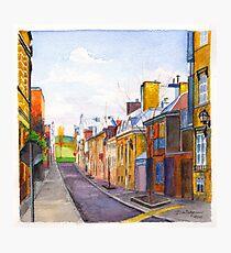 Rue des Grisons, Quebec Photographic Print