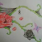 Roses  by vampibunni