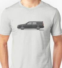 Volvo 850R 855R T5 'Swedish Turbo Wagon' (Black) T-Shirt