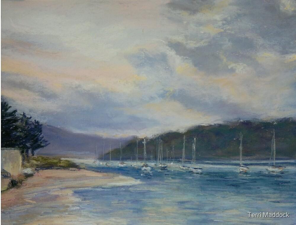 Ettalong - sunrise by Terri Maddock