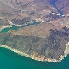 Hoover Dam, from the Air by Karina Walther