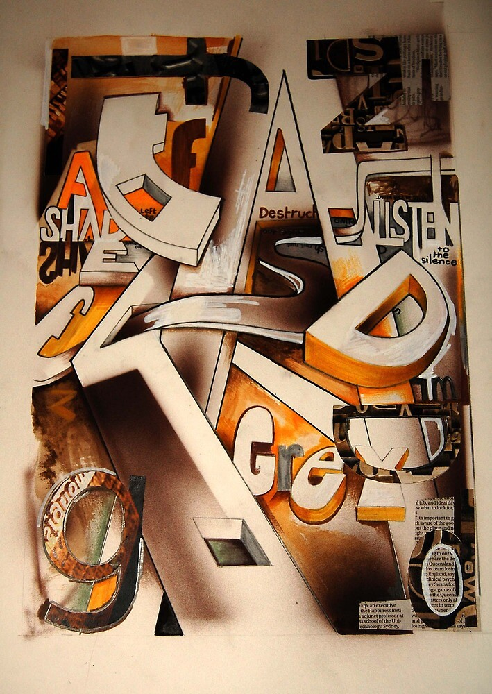 typography illustration by Andrew Hennig