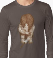 Alone - Sepia Long Sleeve T-Shirt