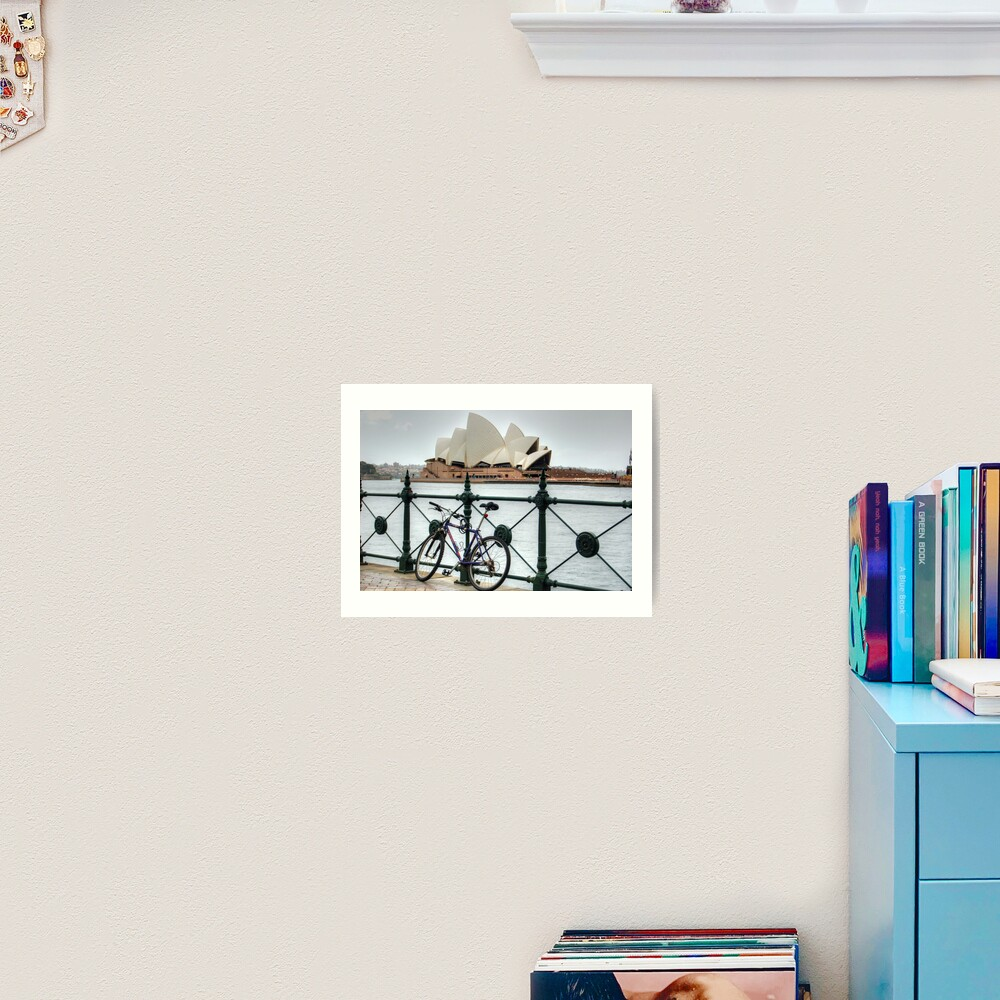The Cycle Art Print
