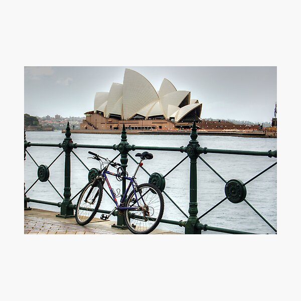 The Cycle Photographic Print