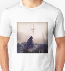 Flower & Sutro Tower T-Shirt