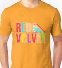 RED VELVET Typography T-Shirt