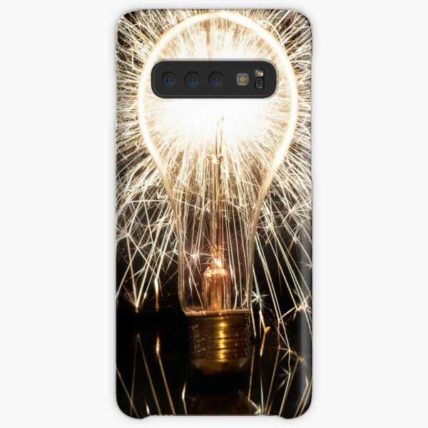 Ideas like a Storm of Sparks Samsung Galaxy Snap Case